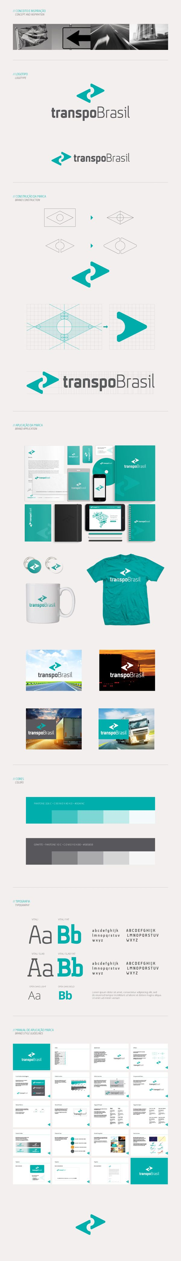 transpoBrasil by Arthur William Presser, via Behance