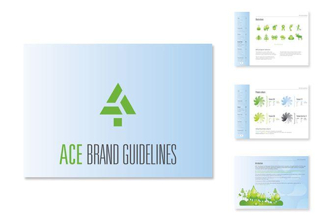 ACE branding illustrations par l'agence double-id