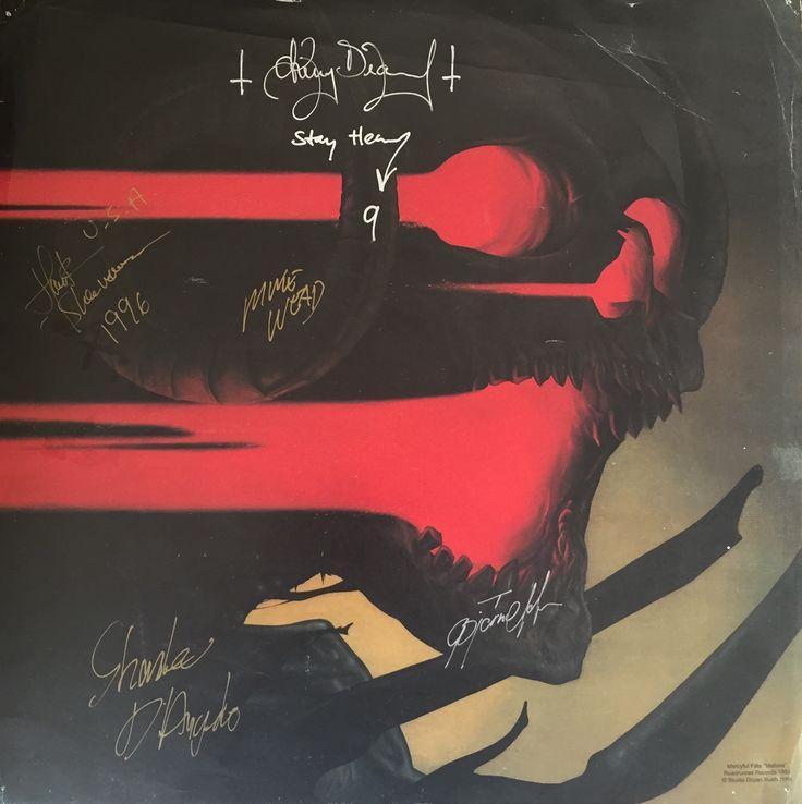 "coffincrawler: ""Mercyful Fate - Melissa art from the ""9"" tour 1996 """