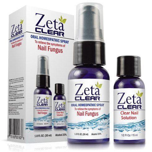 Pacific Naturals Zetaclear Natural Nail Fungus Treatment | Nail ...