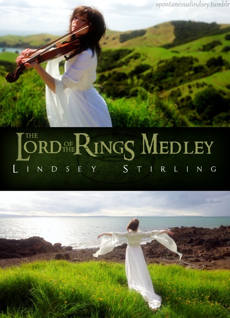 Lord Of The Rings Medley By Lindsey Stirling I Saw Mission Impossible Theme That She Did With Piano Guys Too