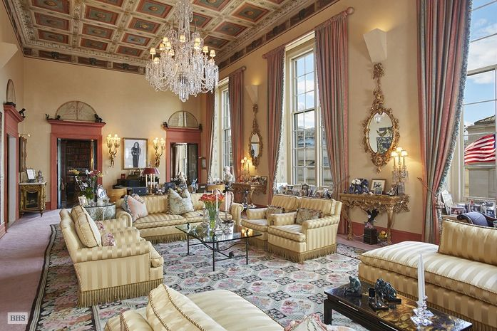 NYC Socialite Georgette Mosbacher Asks $30M for Fifth Avenue Co-op