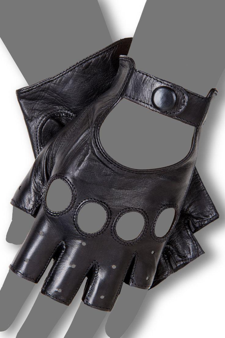 Gaspar leather driving gloves - Gaspar Leather Driving Gloves 5