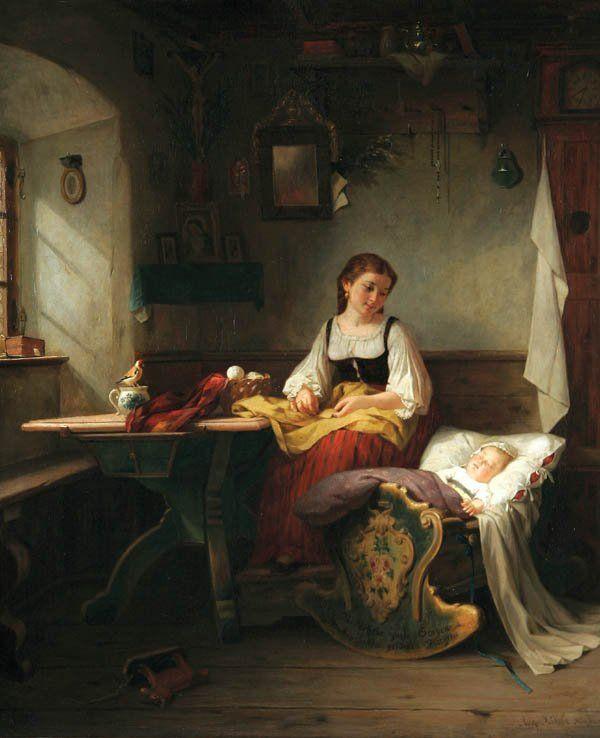 August Muller - Mother's Joy