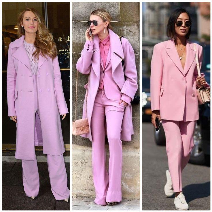 Look social para arrasar com cor-de-rosa também no trabalho. | looks e costuras | Pinterest | Style