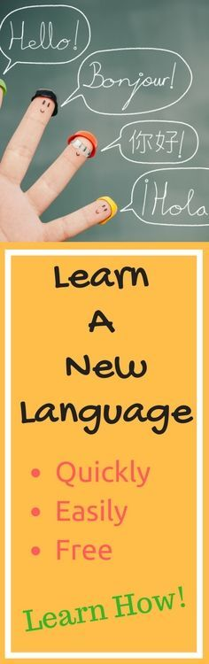 Looking to learn a new language quickly and easily - for free?! Check out my top tips to do just that! You can learn to speak and understand Spanish, French, German, Chinese, and many more! Learn a new language at your own pace, with techniques that really work.