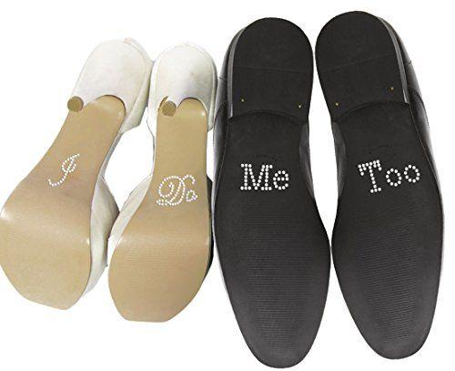 """Wedding Touches Sticker für Hochzeitsschuhe, Set """"I Do"""" - """"Me Too"""", Strassaufkleber, Silber Wedding Touches http://www.amazon.de/dp/B010M4HAHY/ref=cm_sw_r_pi_dp_F2IYwb1D38GG0"""