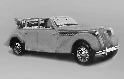 The large model of the range, the Hansa Privat 3500 (1938)