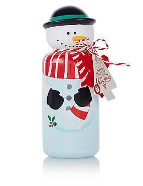 Let It Snow Snowman Bubble Bath 250ml