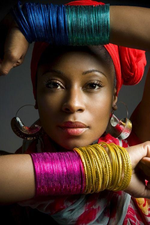 tgsbyosa:  Summer time calls for #Fulani earrings. Hurry up summer! #FatimaRobinson - BLOC   AMAZING