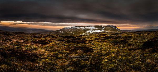 Ingleborough Sunset 2015 www travellingsimon com