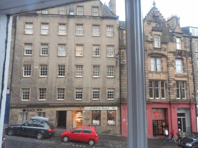 View From The Grmarket Hotel Edinburgh Europe A La Carte Travel Blog