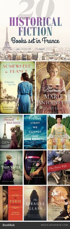 20 must-read historical fiction books set in France, including The Nightingale by Kristin Hannah.
