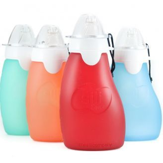 Buy online Sili Squeeze silicone food pouch