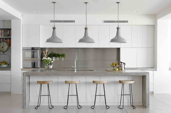 Kitchen by Justine Hugh Jones, a Sydney-based interior designer, shortlisted for the Belle Interior Design Awards 2013.