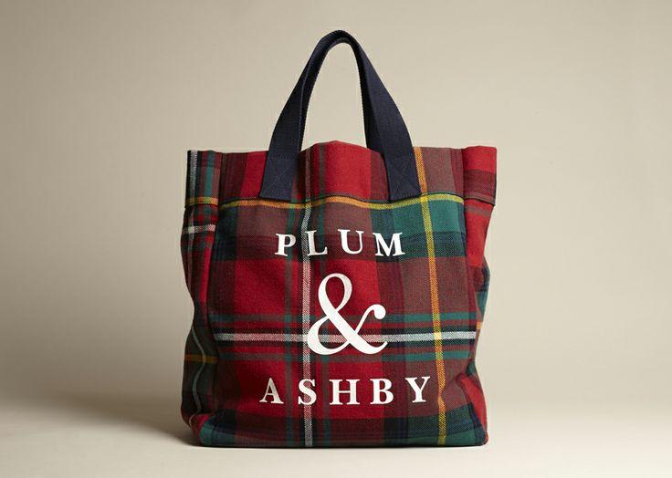 Tartan Bags   Home Acccessories - Plum & Ashby