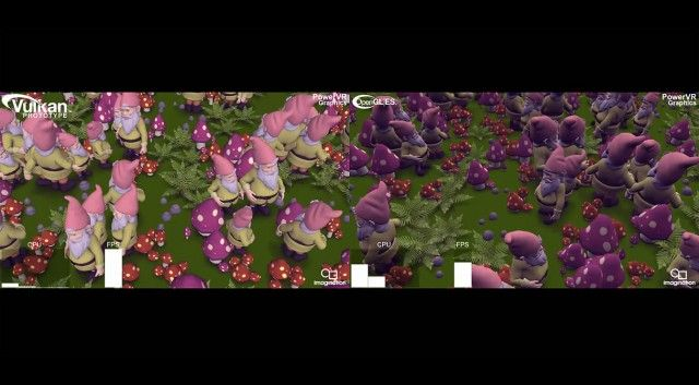 Imagination pits Vulkan API against OpenGL in gnomes per second test