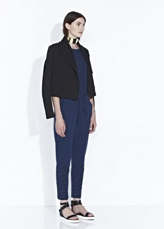 TADAO PANT - Black/Chalk Blue - $195.00 : Green Horse, Lifestyle with a conscience