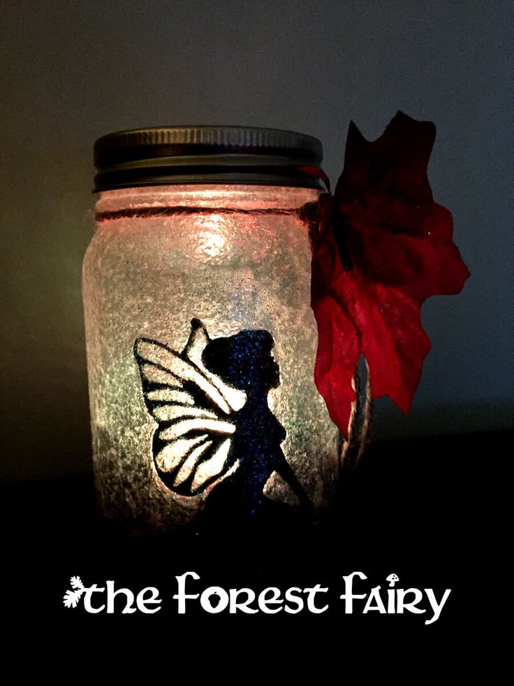 Forest Fairy Jar Tutorial | The Forest Fairy