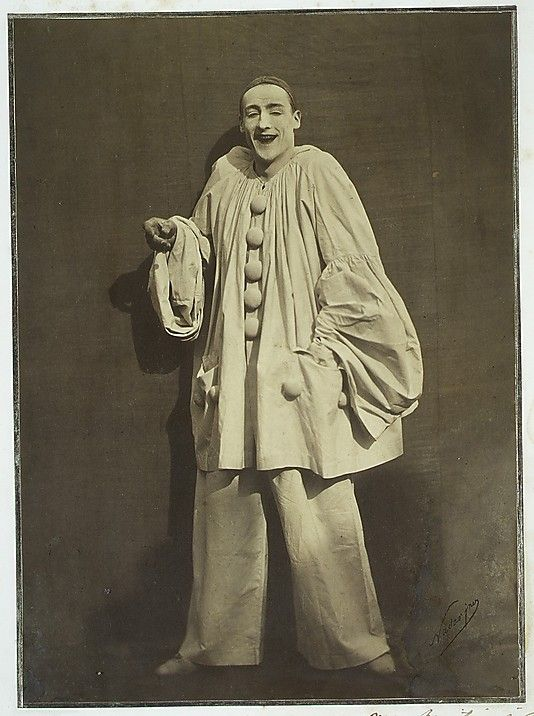 Pierrot Laughing  Nadar  (French, Paris 1820–1910 Paris)  Artist:  Adrien Tournachon (French, 1825–1903)