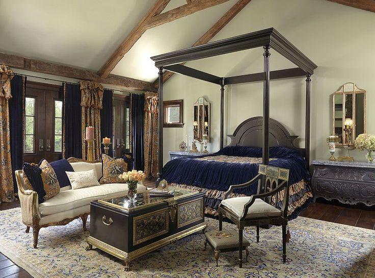 Camera da letto in stile vittoriano n.13