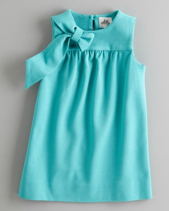 Milly Minis  Eloise Dress $180 / Perfect aqua dress for spring. Beautiful!