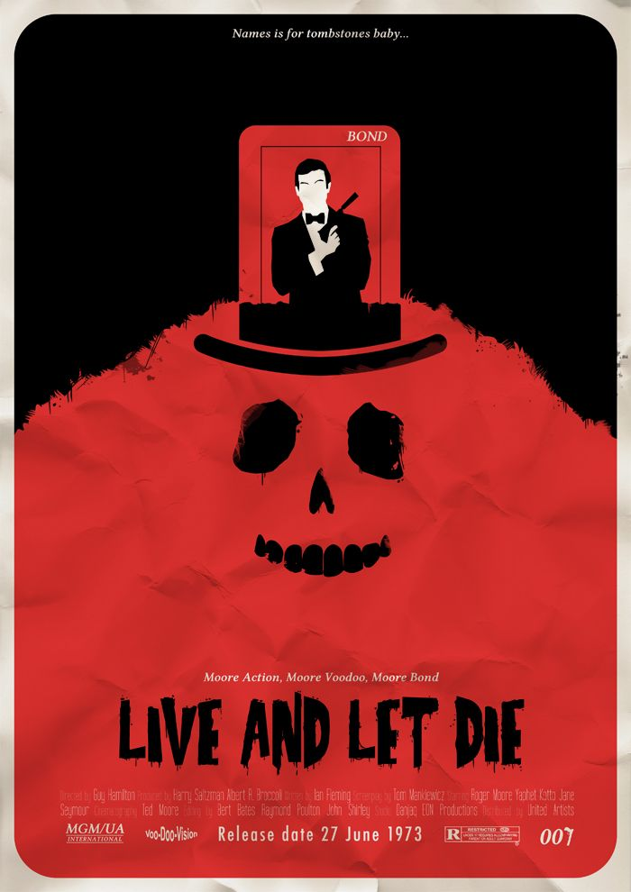 35 best images about live and let die 8 moore 1973 for Minimalist living movie