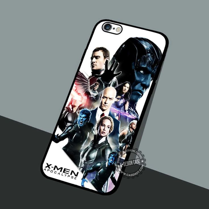 X-Men Movie Character - iPhone 7 6 5 SE Cases & Covers #movie #superheroes
