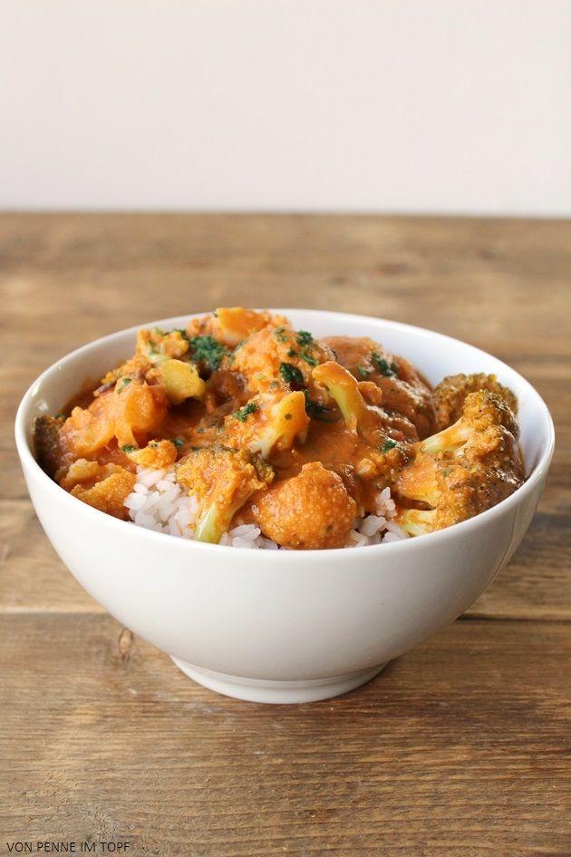 Blumenkohl - Brokkoli - Curry