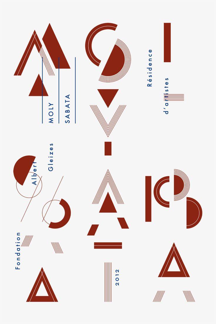 Moly Sabata 2012 Design graphique — affiche , 2012 Superscript Studio