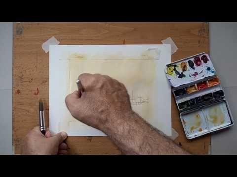 Acuarela Paso a Paso Watercolor - YouTube