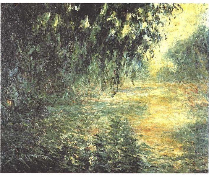 Monet - Die Seine am morgen im Regen  Rainy Morning On The Seine