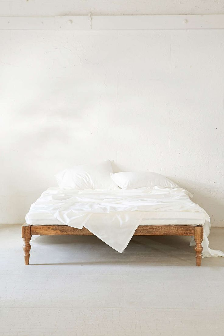 brave wooden boho bed frame