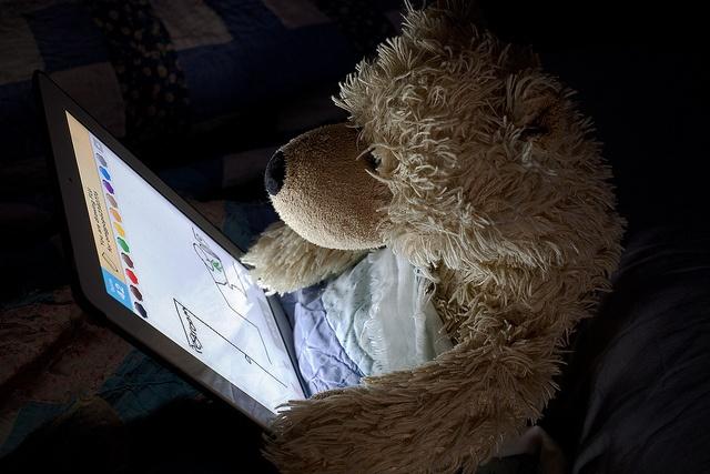 George on the iPad