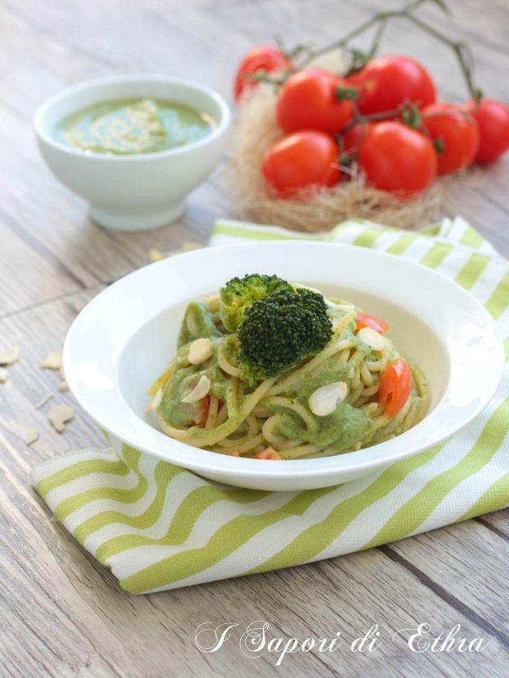 Pasta with broccoli cream...delicious and light recipe