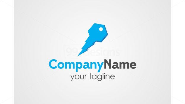 Key logo on 99designs Logo Store