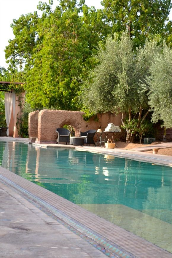 Les Deux Tours Hotel - The pool