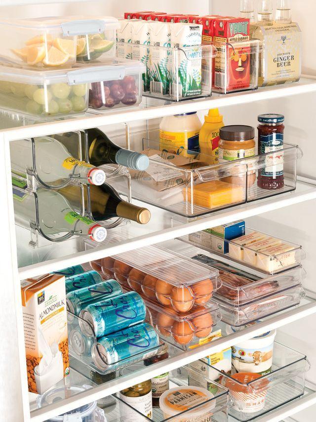 Diy Kitchen Pantry Cabinet Refrigerators Ideas For 2019 Kitchen Organization Pantry, Kitchen Pantry Cabinets, Diy Kitchen Storage, Home Organization, Organizing Ideas, Kitchen Refrigerators, Organized Kitchen, Small Space Organization, Kitchen Drawers