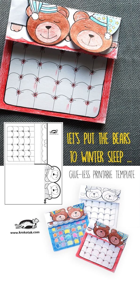 Let's put the bears to winter sleep …