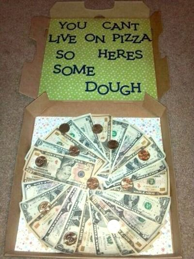ways to give money