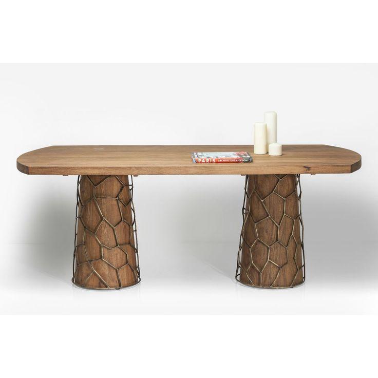 Τραπέζι Mesh Brass 200x100cm  Εντυπωσιακό τραπέζι, σε ένα υπέροχο σχεδιασμό που ταιριάζει με πολλά είδη επίπλωσης.   €1.720