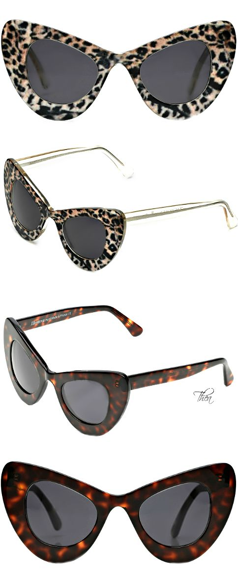 Illesteva for Zac Posen ● Cat Eye Sunglasses