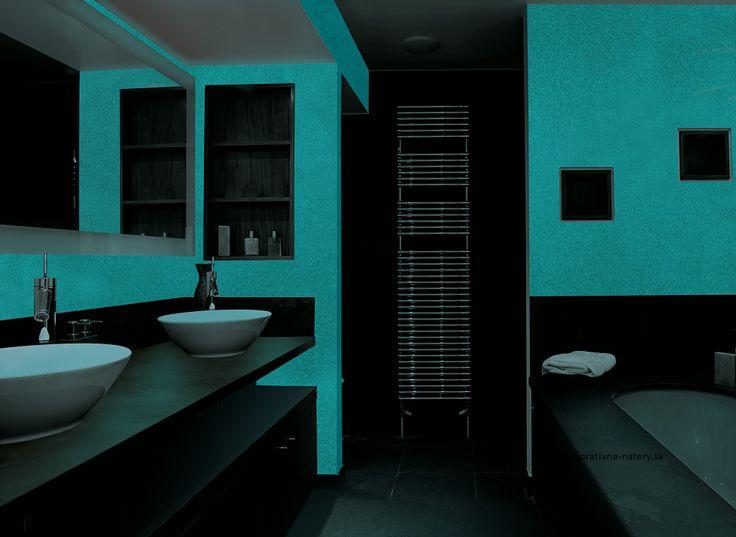 Kúpeľňa -  MAGIC LIGHT - fosforujúci náter