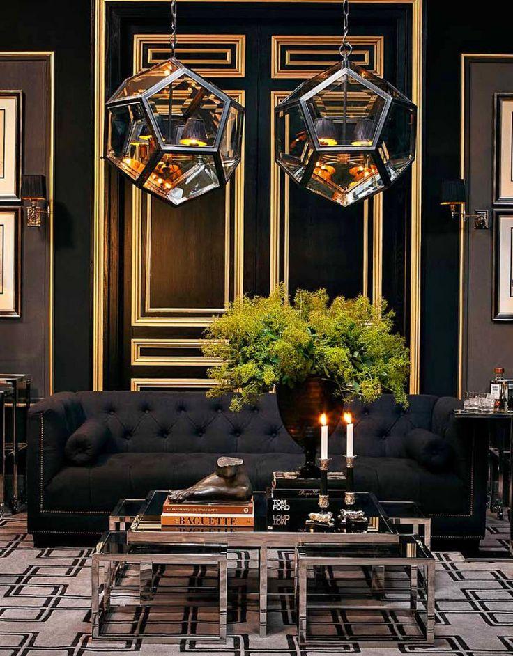Архитектура в цветах: черный, серый, темно-зеленый, коричневый, бежевый. Архитектура в стилях: арт-деко.