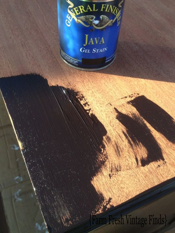 109 best images about java gel stain on pinterest for Gel stain