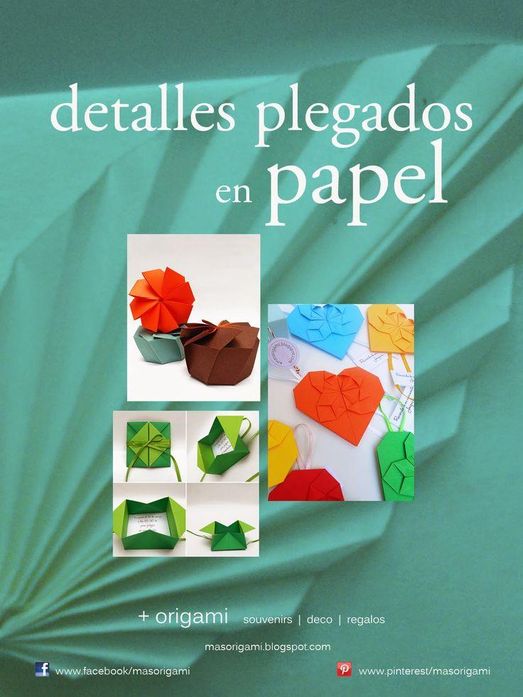 Los invito a compartir mi pasión por el origami en mi nueva página de Facebook:     https://www.facebook.com/masorigami           ¡Bienven...