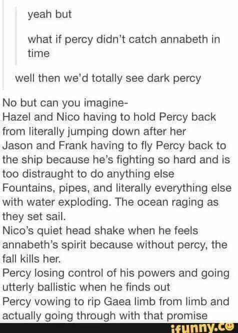 Oh my Percy