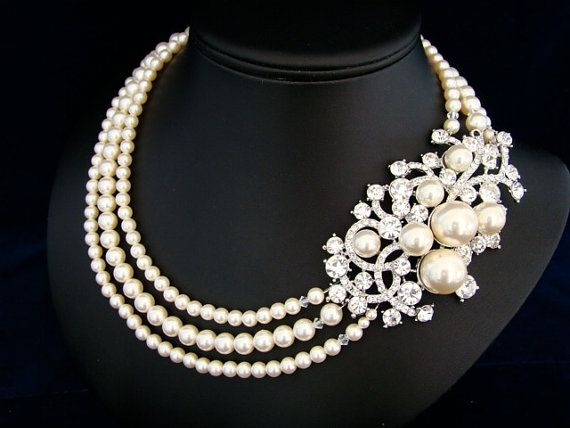 This necklace is beautiful.