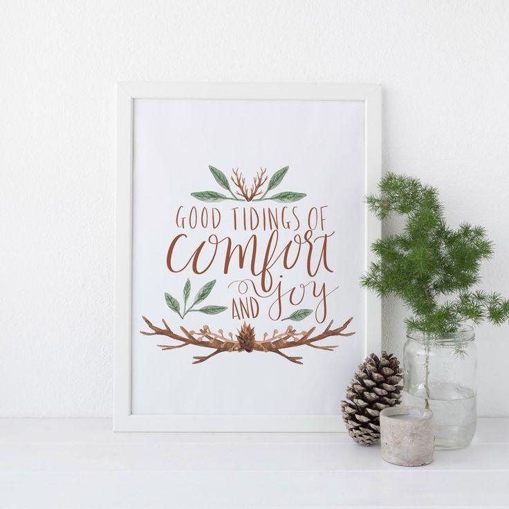 25+ Unique Christmas Wall Art Ideas On Pinterest