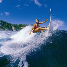 Surfing Holiday at Arugam Bay, Sri Lanka - Surfing competitions are held at Arugam Bay due to its great waves